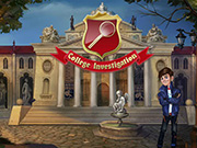 Play College Investigation Game